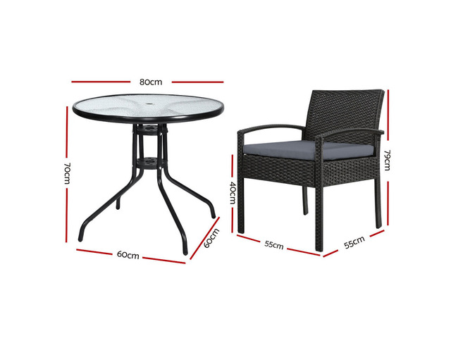 Gardeon Outdoor Furniture Dining Chairs - 4