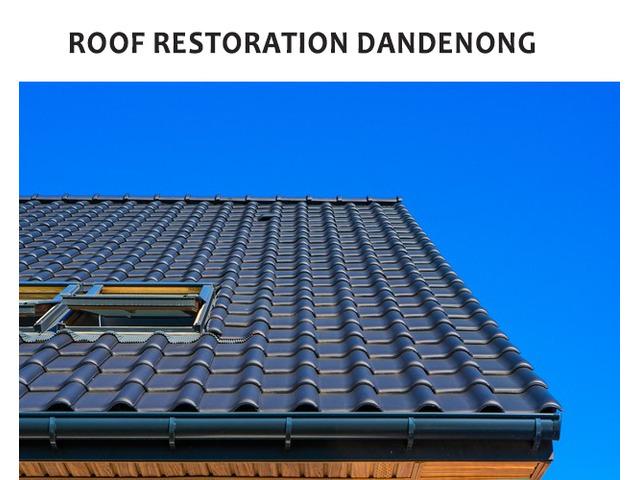 We provide the best roof restoration Dandenong. - 1
