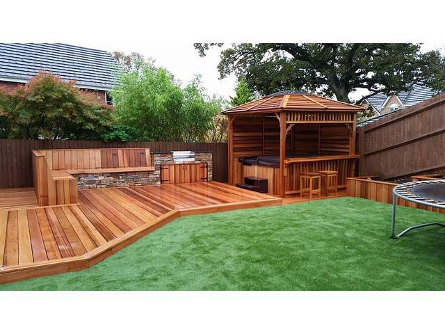 Hire Trendy Deck Service From Green Kings Landscaping - 2