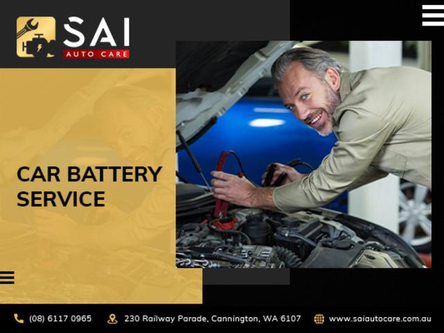 Get a car battery installation service from SAI Auto care, Australia's best auto repair shop - 1