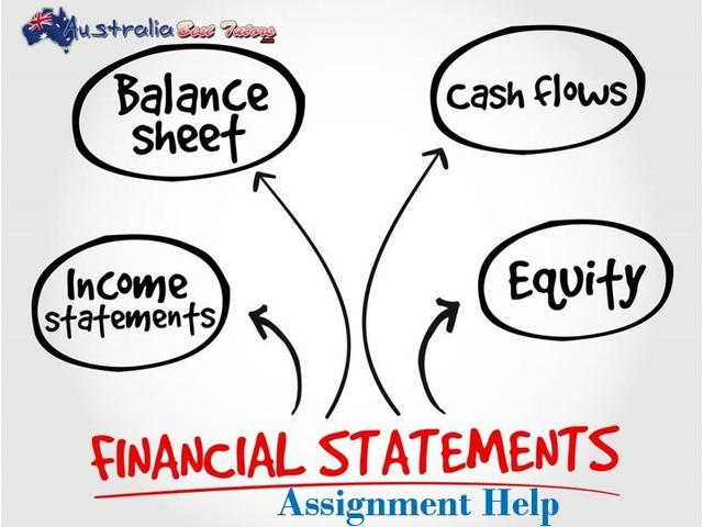 Financial Statement Assignment Help - 1