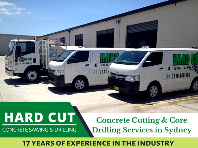 Hard cut Concrete Sawing and Drilling company in Sydney - 1