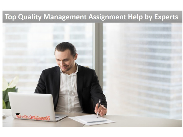Top Quality Management Assignment Help by Experts - 1