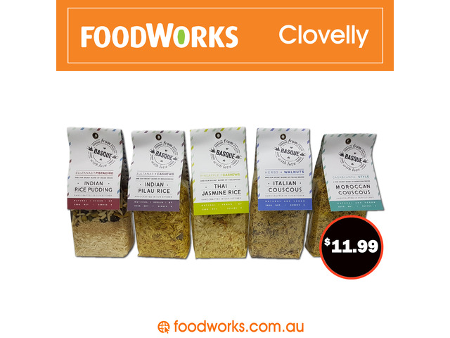 Order Basque From FoodWorks Clovelly Special - 1