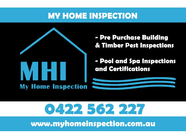 Home Inspections in Sydney Metropolitan Area - My Home Inspection - 1
