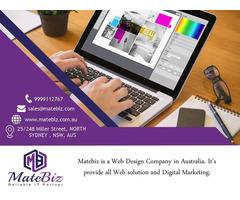 Choose online a Web Design Company Sydney