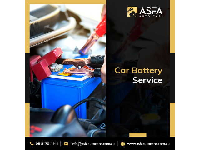 """""""Car battery replacement near me"""" is this is what are you looking for? then contact Asfa today - 1"""