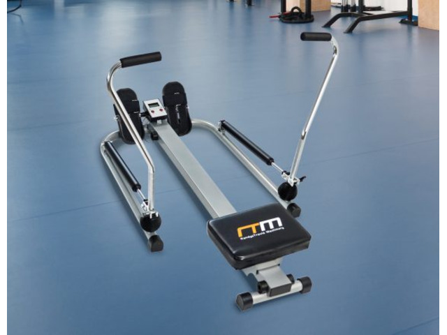 Rowing Machine Rower Exercise Fitness Gym - 1