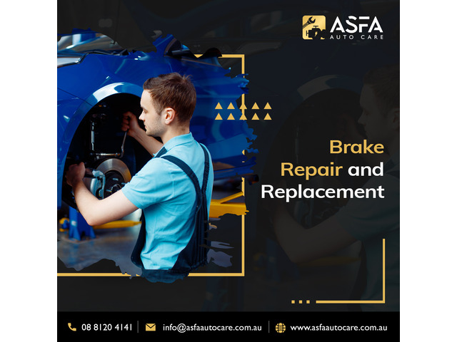Brake pad replacement at best auto care shop - 1