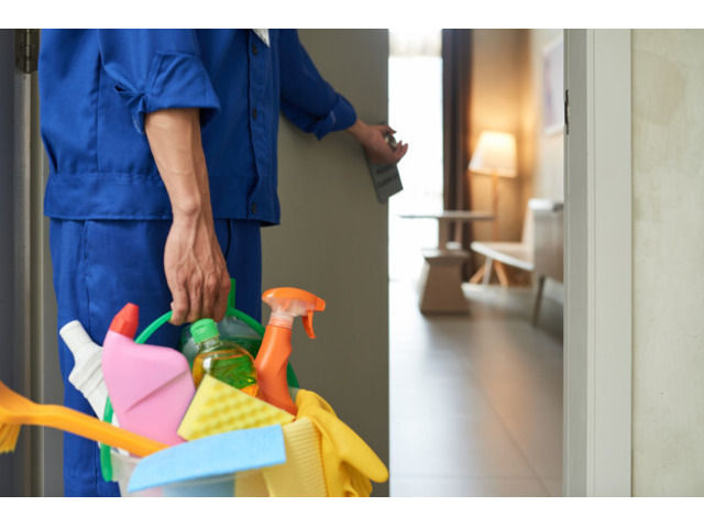 Would you like to get residential cleaning solutions? - 1