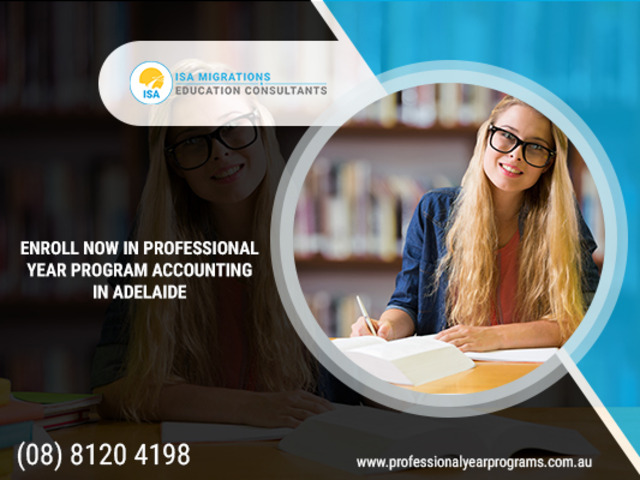 Make Career in Finance Sector With Professional Year Accounting Program. - 1