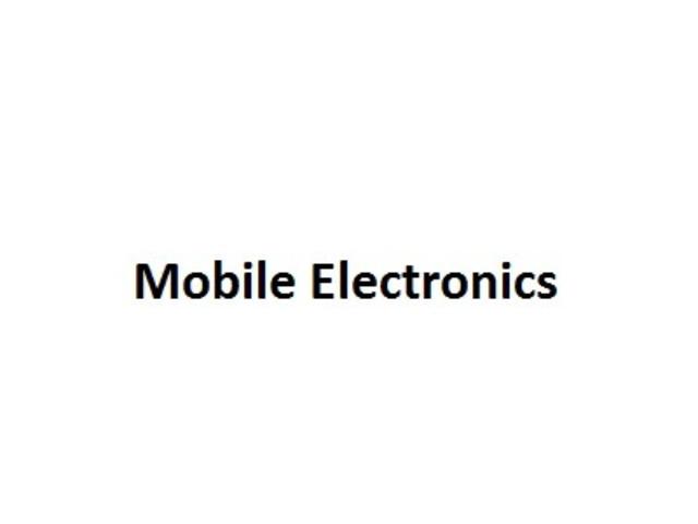 Mobile Electronics - 1
