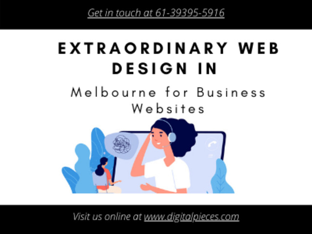 Extraordinary Web Design in Melbourne for Business Websites - Digital Pieces - 1