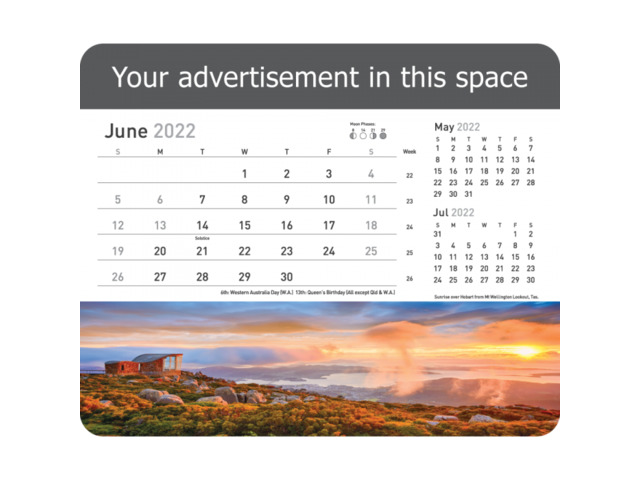 Make your own Customized Desk Calendars - 1