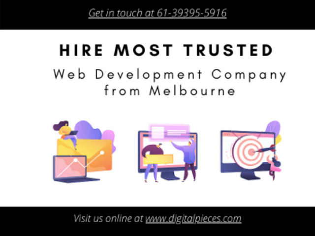 Hire Most Trusted Web Development Company from Melbourne - Digital Pieces - 1