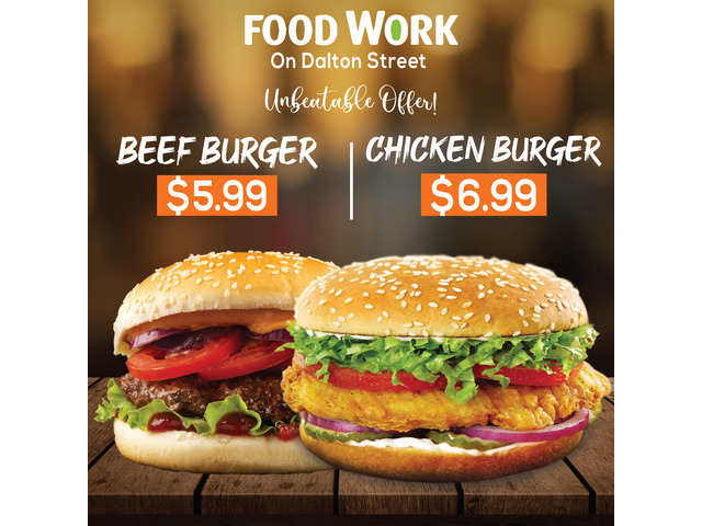 Best BURGER Deals - Foodworks Orange - 1
