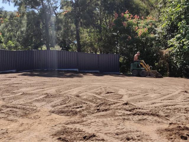 Massive yard raise into an oasis -Turf - 6