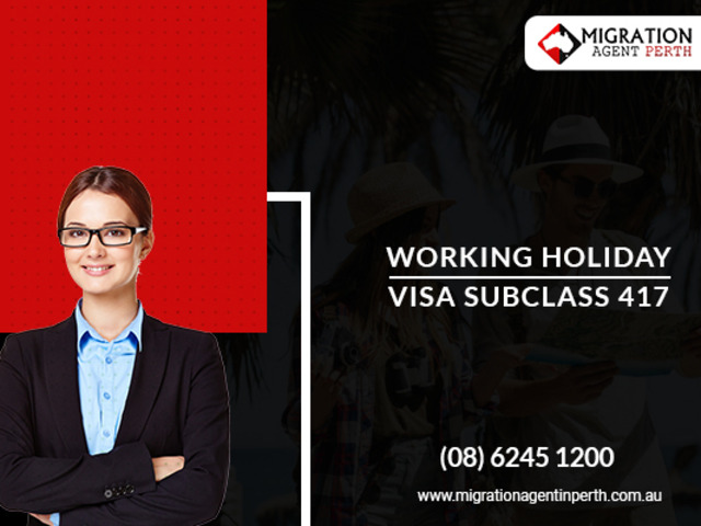 Hire An Expert For Working holiday visa 417 - 1