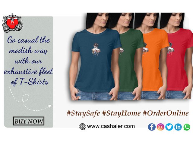 Exclusive Summer Sale  Branded t-shirts   Buy Now - 1