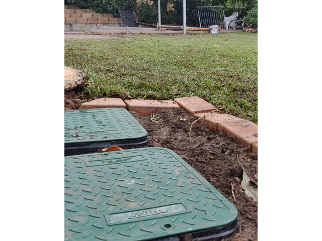 Fully automatic 8 station irrigation set up - 4