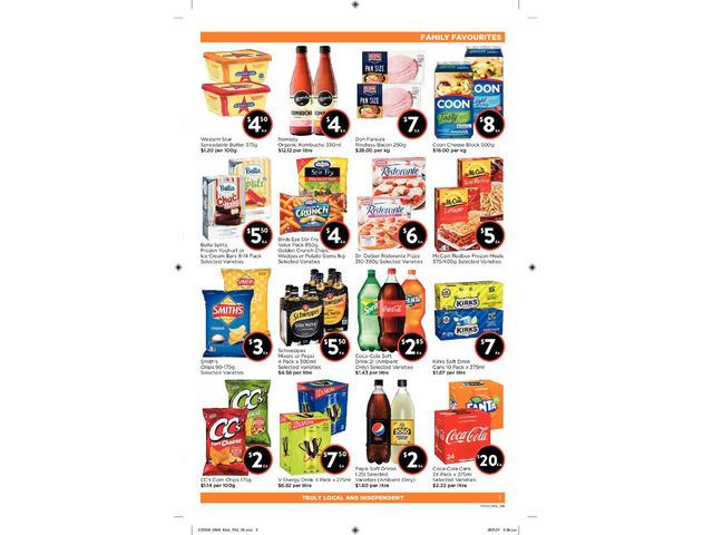Family Favourites  - Essentials Item, FoodWorks Orange - 1
