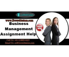 Get The Best Business Management Assignment Help Services