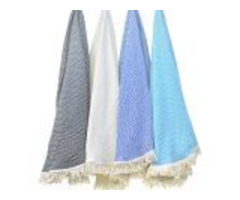 Buy Lightweight and Fast-Drying Turkish Cotton Beach Towels