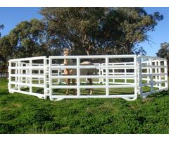 Portable horse fencing