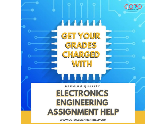 Get Amazing Help With Electronics Assignment Help Online In Best Prices - 1