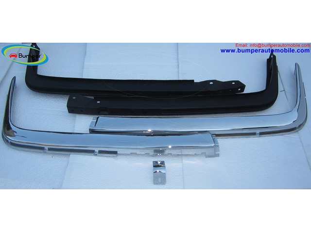 Mercedes W107 Chrome bumper type Euro by stainless steel - 2