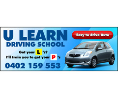 Driving School Adelaide - U Learn Driving School