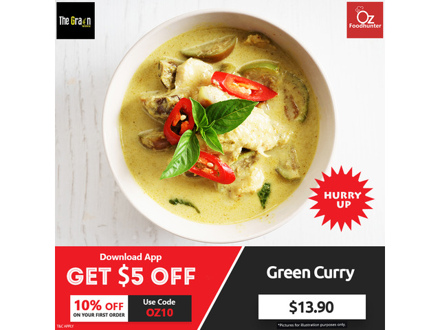 Get 10% off on your Order @ The Grain Thai - 1
