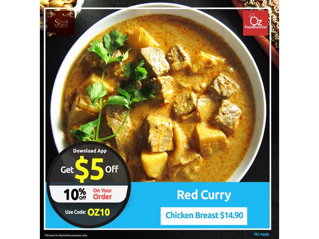 Get 10% off on your Order @ Siam Signature Thai Restaurant - 1