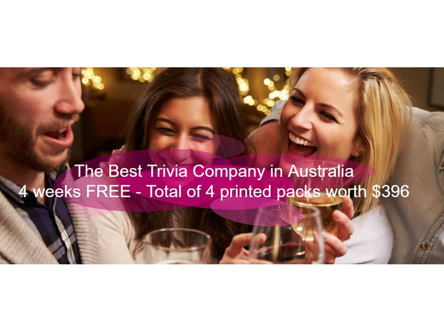 Trivia Packages Australia - Trivia Company - 2