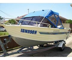 Fishing boat Bermuda 455