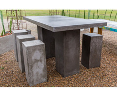 Concrete Outdoor Furniture - Ph No:- 61419658728
