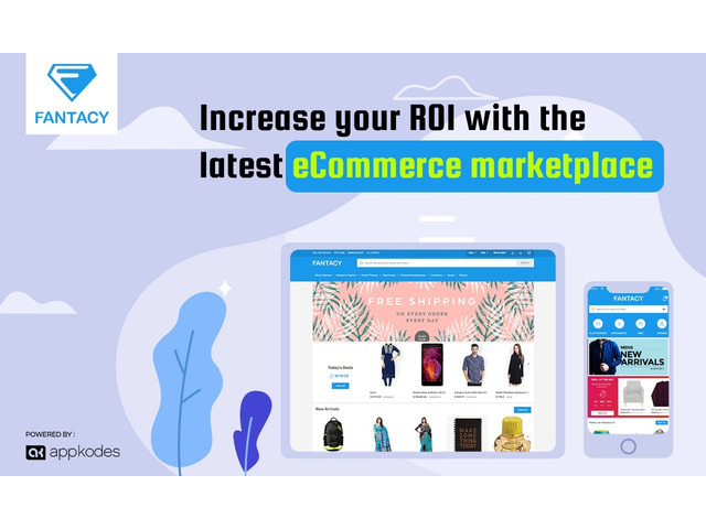 Increase Your ROI with the latest ecommerce marketplace script - 1