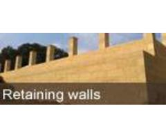 Retaining Wall Construction - Swan Limestone Pty Ltd