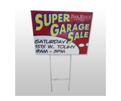 Yard and Garage Sale Signs