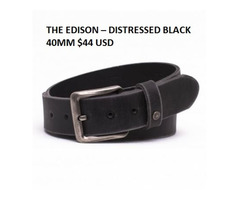 Increase your personality with handmade black waist belts in Australia