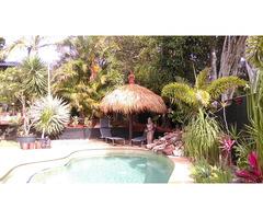 Bali Hut Thatching