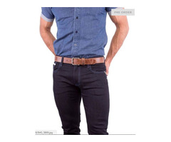 Select from a wide range of mens brown leather belt from VIGGOR