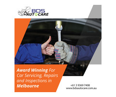 Award Winning For Car Servicing, Repairs and Inspections in Melbourne