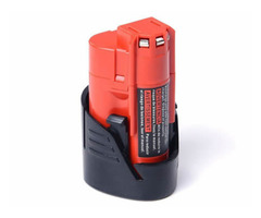 12V 2.0Ah Li-ion Power Tool Battery M12 Battery for Milwaukee 48-11-2420