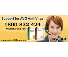 Call us 1800 832 424 for AVG Tech Support Services