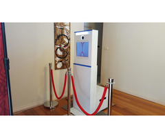 Full day hire open style photo booth $399