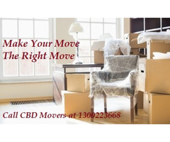 Make Your Move the Right Move with CBD Movers Melbourne