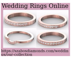 Choose Perfect Wedding Rings Online For Gift