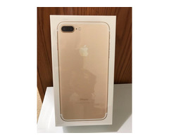 Apple iPhone 7 Plus 256GB GOLD FACTORY UNLOCKED Apple Warranty (SEALED)