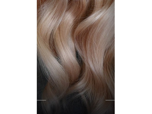 Hair Extensions in Salon - 2